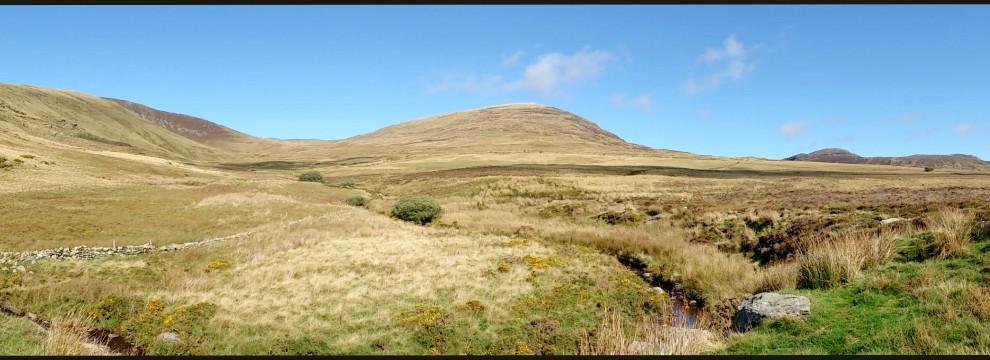 Looking towards Pen Llithrig y Wrach, Carneddau, Snowdonia
