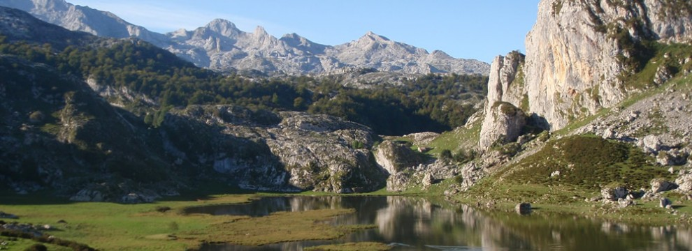 Lago Ercina, The Covadonga Lakes, Picos de Europa National Park