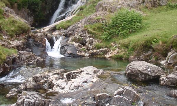 Afon Cwm Llan, (Watkin Path), Snowdonia