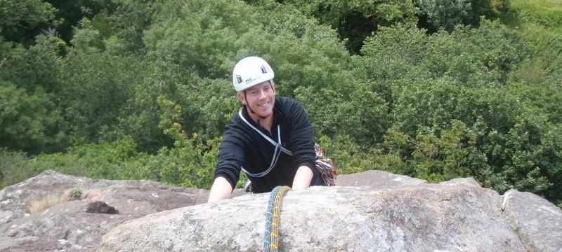 Valeries Rib (HS) Craig Bwlch y Moch, Tremadog, North Wales
