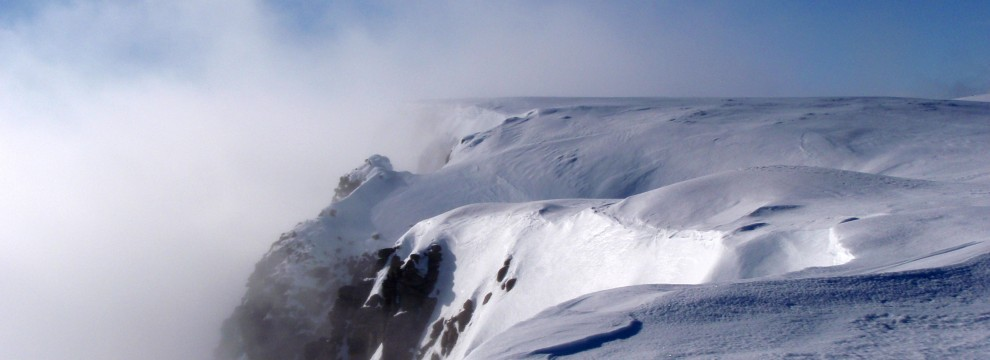 Cairngorms: corniced edges