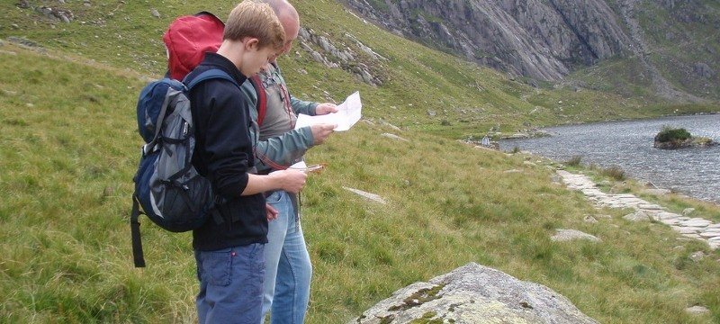 Navigating in the Ogwen Valley