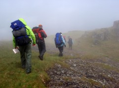 Navigating in poor visibility - Snowdonia North Wales