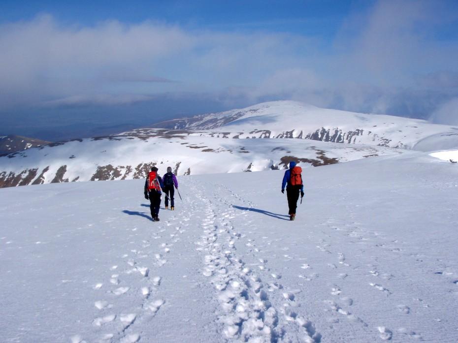 Winter Navigation - Cairngorms Scotland