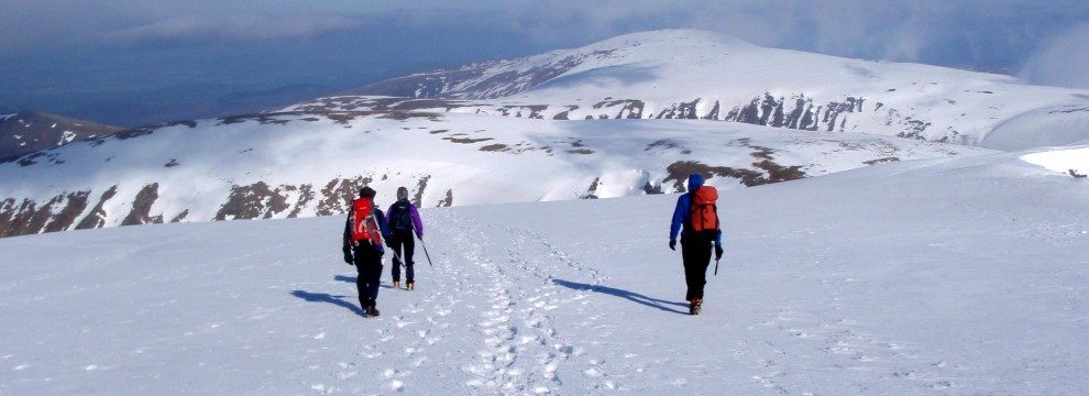 Winter Navigation - Cairngorms Scotland