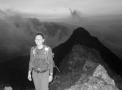 Past all the exposed difficulties on Crib Goch