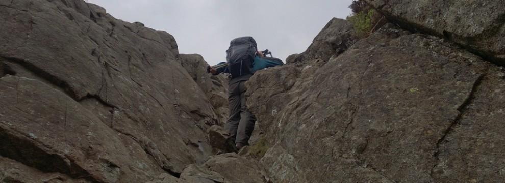 Confidence on steep ground