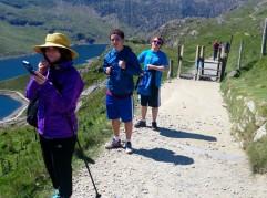 Snowdon On the Pyg Track at Bwlch y Moch