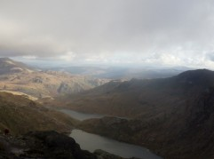 Coming down off Snowdon just after Crib Goch