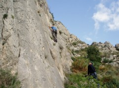 The Sella valley out the back of Benidorm contains a wide range of routes