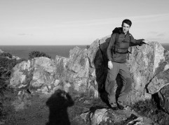 Anglesey Coastal Path at Holyhead Mountain North Stack