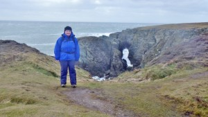 Anglesey-Coastal-path walking around Abrahams Bosom area