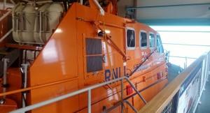 The fantastic new life boat