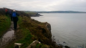 Stunning path along the Anglesey coastal path