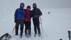 A great day out in winter in Scotland with Mountaineering Joe