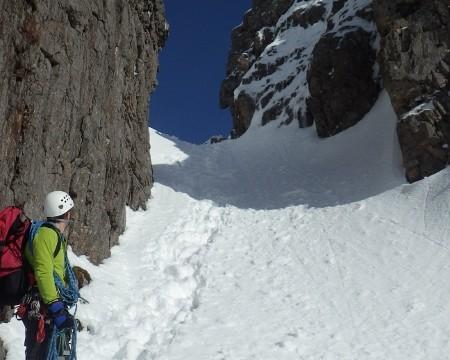 Curved ridge in Glen Coe