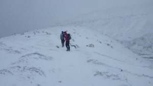 Winter navigation across the cairngorms