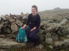 Welsh 3000s 14 peaks On the summit of Y Garn