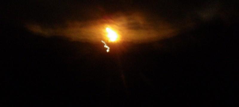 Night navigation in Snowdonia on the super moon night. If it wasn