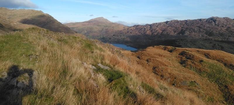 Beautiful views across Snowdonia
