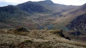 Walking in Cwm Treglan Snowdonia