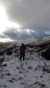 Waling on Snowdon