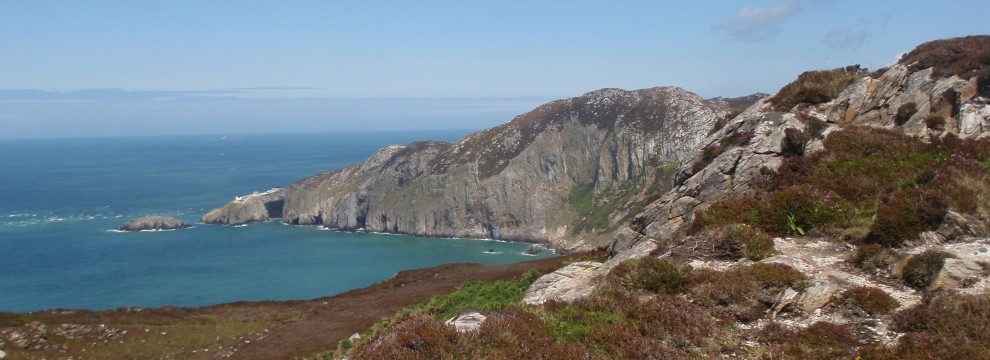View of Ynys Arw (North Stack), Isle of Angelsey - Wales Coast Path
