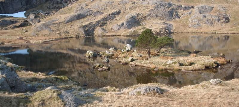 Llyn Glas, Cwm Glas Mawr, Snowdonia
