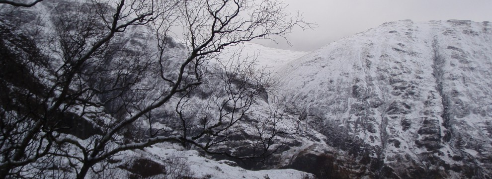 The atmospheric Hidden Valley Glen Coe