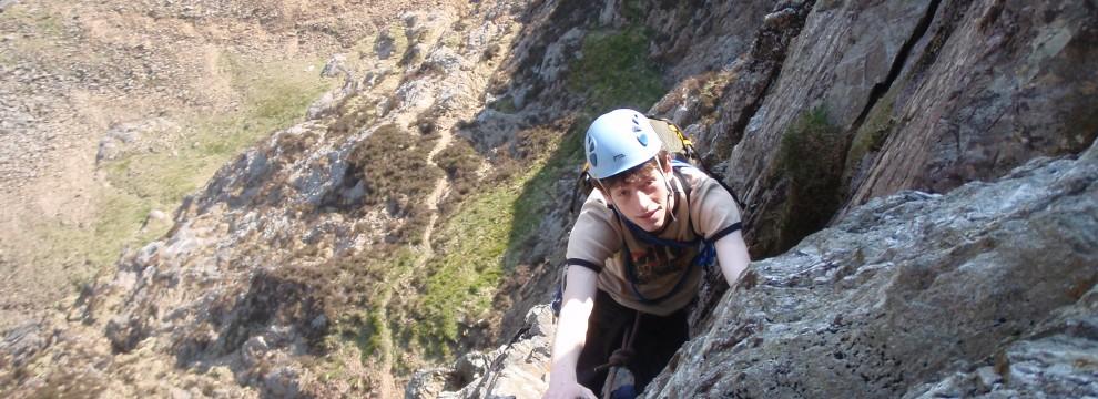 Main Wall (HS), Cyrn Las, Llanberis Pass, Snowdonia