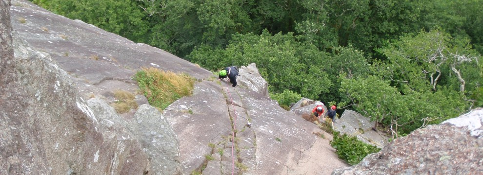 Poor Mans Peuterey (S), Craig Pant Ifan, Tremadog