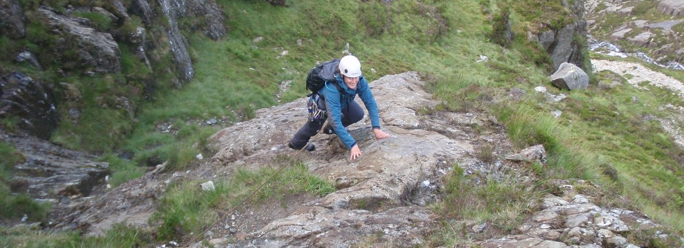 Direct Approach to Seniors Ridge, Glyder Fawr