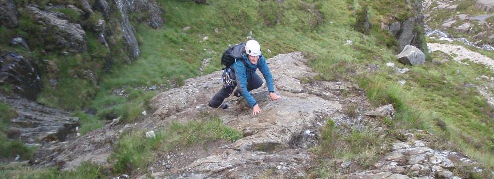 Direct Approach to Seniors Ridge, Glyder Fawr