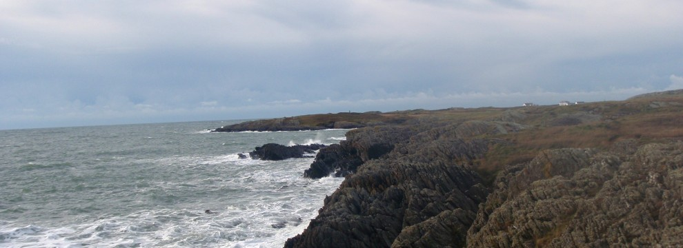 Sea-Cliffs West of Silver Bay, Isle of Anglesey.