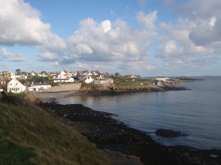 Coastal town of Moelfre