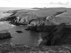 View along Porth Tywodog