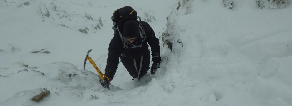 Winter Skills - Cwm Lloer Carneddau