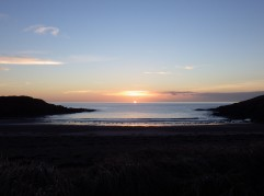 Sunset at Porth Trecastell