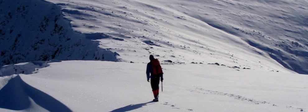 Winter Walking Cairngorms Scotland