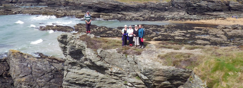 Guided walking on the Anglesey Coastal Path