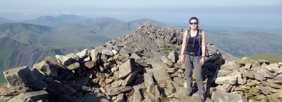 This was a hard long route up to Elidir Fawr climbing 2700 feet