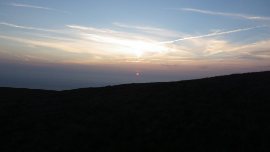Sunset coming off the Carneddau- end if the day