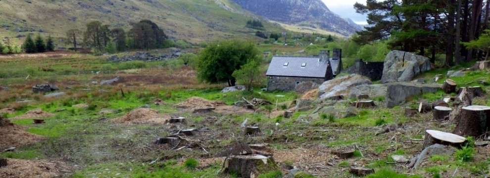 Astunning hut location below Tryfan