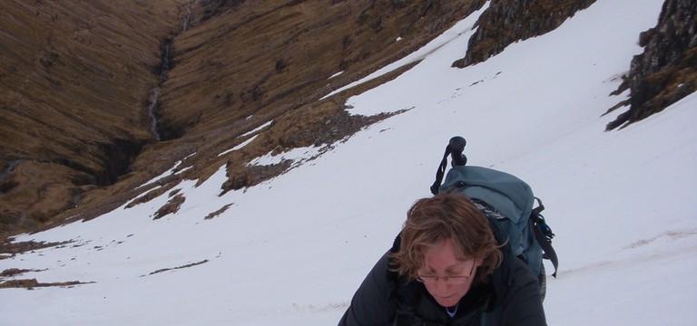 Looking back down into Glen Coe