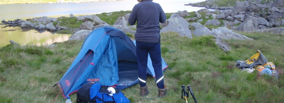 Camping requires good organisation flow efficiently