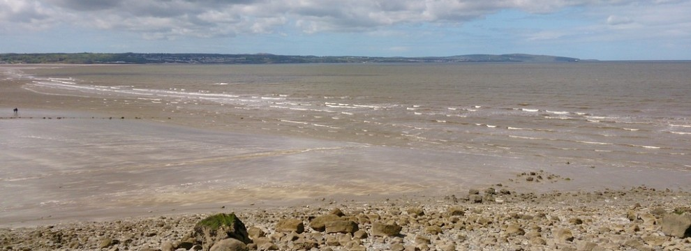 The stunning beach at Red Wharf bay