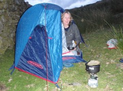 Wild camping enables you to adventure further
