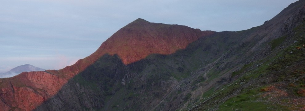 Snowdon in the morning sun