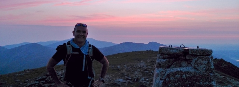 Welsh 3000s On Carnedd Ugain at sunrise