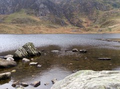 What a view across Llyn Idwal.  Such a beautiful valley